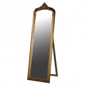Antoinette French Sleigh Gallery Mirror