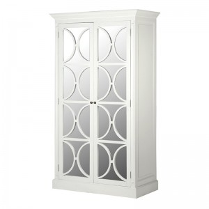 Ashwell Classic White French Wardrobe