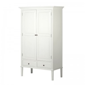 Chamonix Grey Double Wardrobe