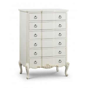 Beaulieu French 2 Drawer Bedside Table