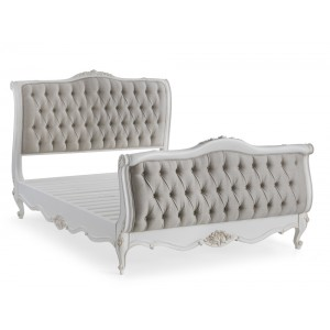 Beaulieu Buttoned French Bed End Stool