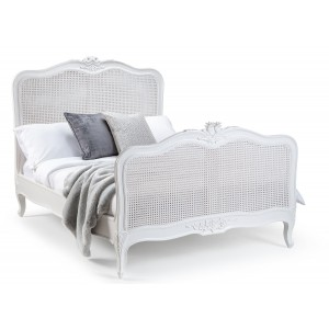 Sophia Rattan French Style Bed