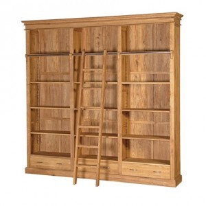 Tuscany Contemporary Low Bookcase