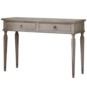 Camille French Style Weathered Dressing Table Stool