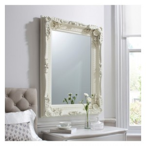 Louis Carved Gold Leaf Mirror French