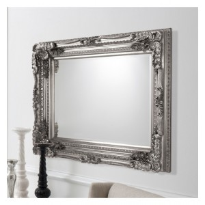 Large Overmantel Gold Frenchstyle Mirror