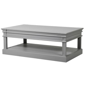 Camille Weathered Coffee Table With Drawers
