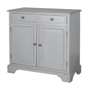 Chamonix Grey 3 Drawer Hall Table