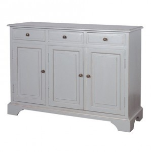Chamonix Grey 2 Drawer Hall Table