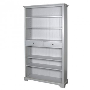 Chamonix Grey Cupboard Desk