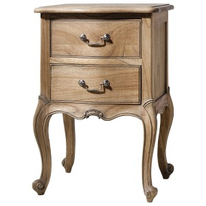 Alexander French Nightstand with Pull Out Shelf