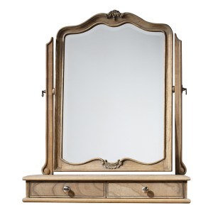 Parisian Grey French Style Dressing Table Mirror