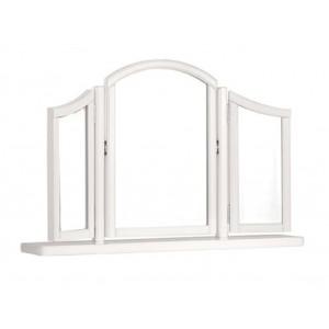 Clifton White Sleigh Dressing Table Stool