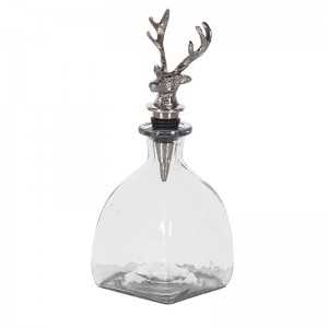 Chequers Glass Decanter