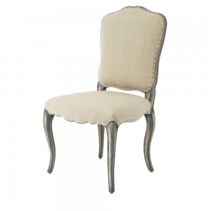 Stanza Button Back Charcoal Dining Chair