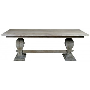 Astor Hand Embossed Metal Dining Table