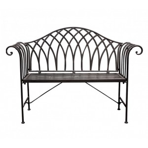 Contemporary Iron Bench