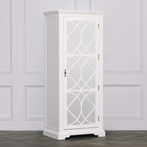 Etienne Petite French White Chest of Drawers