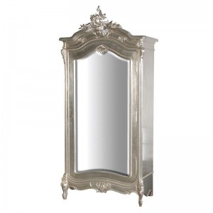 Venetian Contemporary Mirrored Tall Cupboard