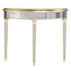 Florence Mirrored Console Table