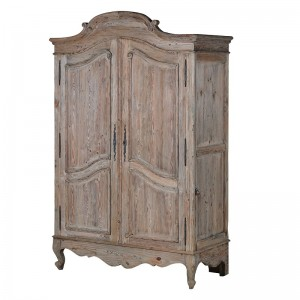 Giselle Reclaimed Pine French Bedside Table