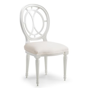 Malvern Dining Chair Off Grey
