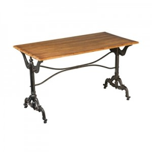 Henley Antique Grey Contemporary Dining Table
