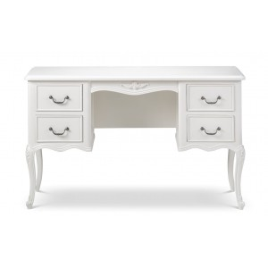 Ivory French Inspired Ornate Coffee Table