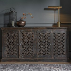 Large French Rustic Sideboard