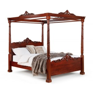 Juliette Contemporary Four Poster Bed