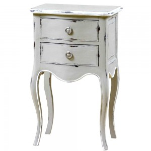 Alexander Weathered Oak French Nightstand