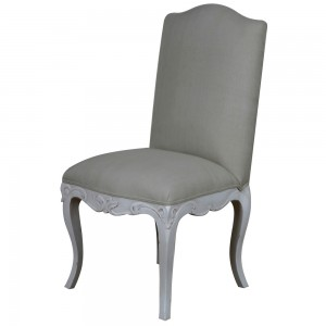 Chateau French Linen Dining Chair