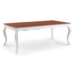 Amelie French Silver Extending Dining Table