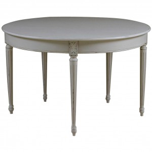 Gloucester Grey Distressed Round Dining Table