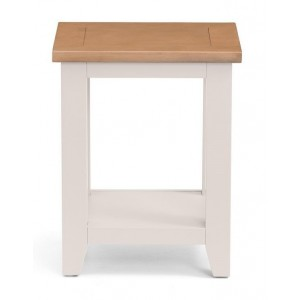 Lille Square Lamp Table With Drawer