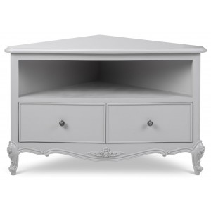 Parisian Grey French Inspired Double Wardrobe