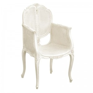 Antoinette French Sleigh Bedroom Chair