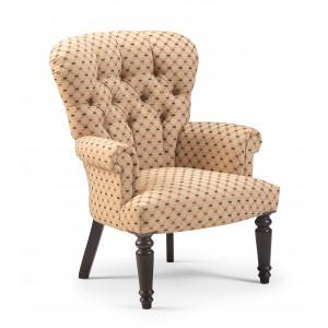 Grey Linen Chair