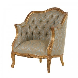 Versailles Antique Gold French 3 Seat Sofa
