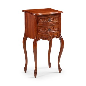 French Dressing Table - Mid Mahogany