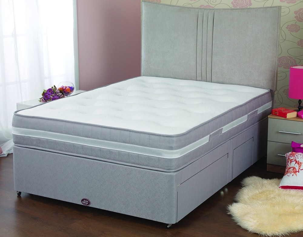 Sweet dreams sleepzone springs mattress pocket sprung for Furniture zone beds
