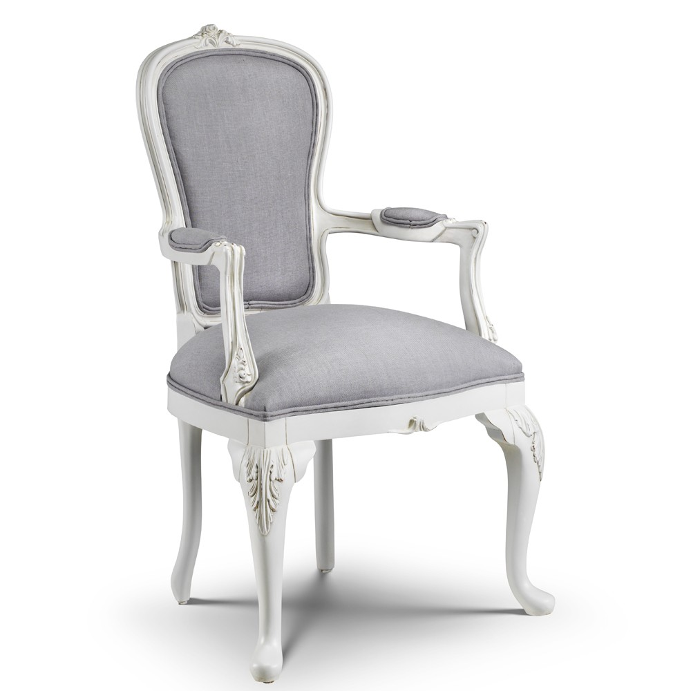 Beaulieu French Armchair Crown French Furniture