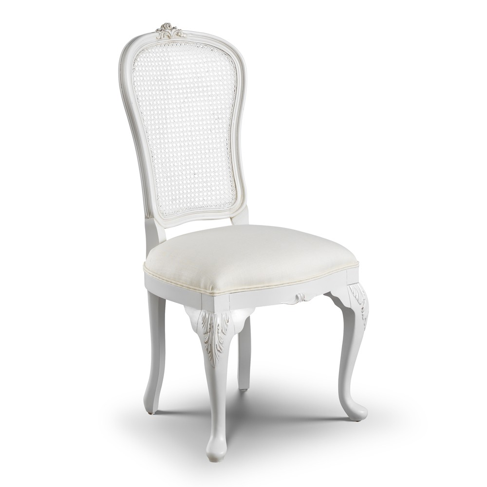 Exceptionnel Beaulieu Rattan Back French Dining Chair