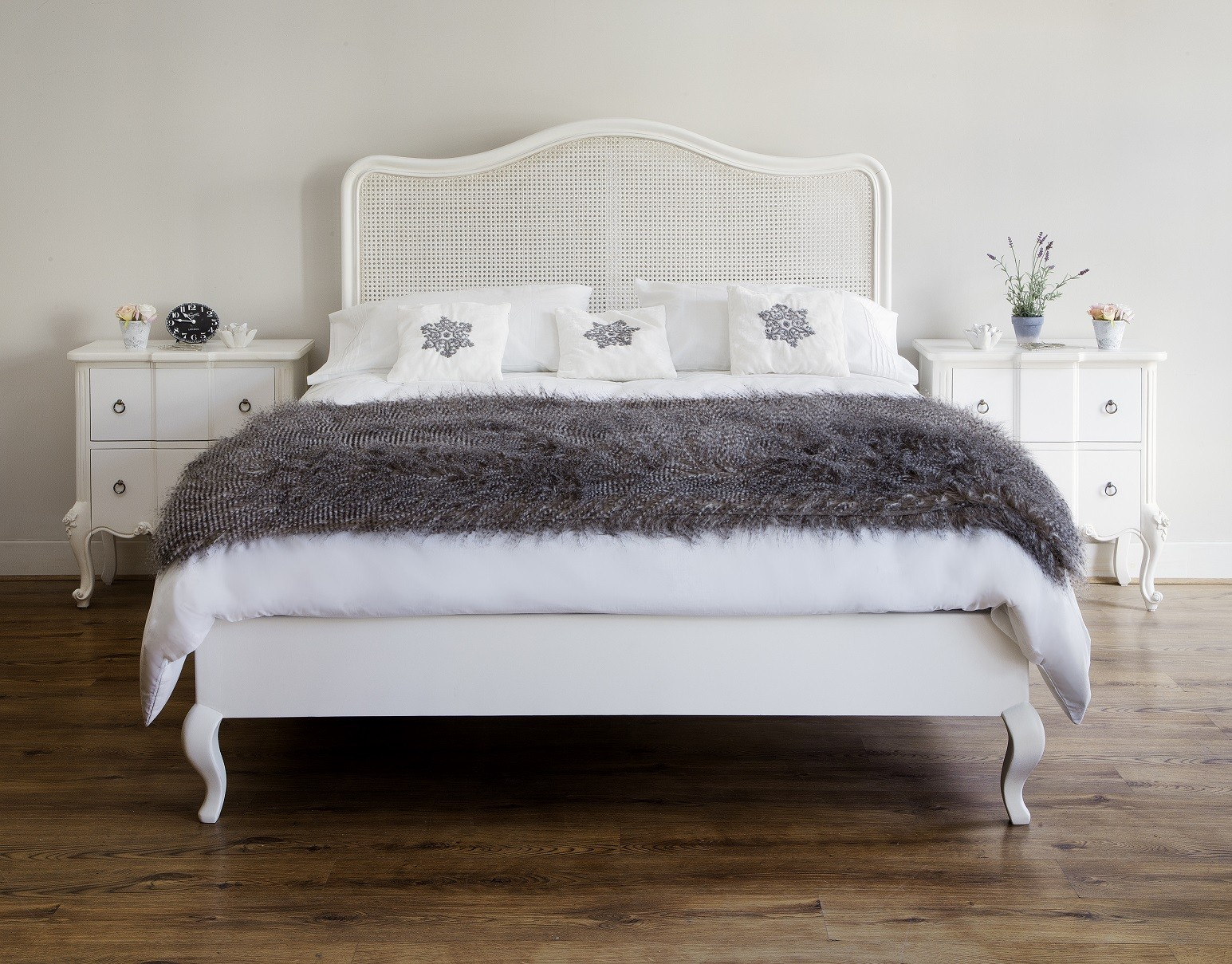 Charmant Beaulieu French Rattan Bed   Set Image