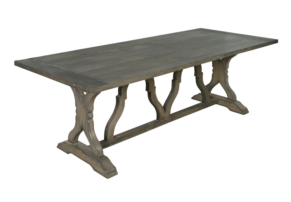 Dorset contemporary large dining table contemporary for Large modern dining tables