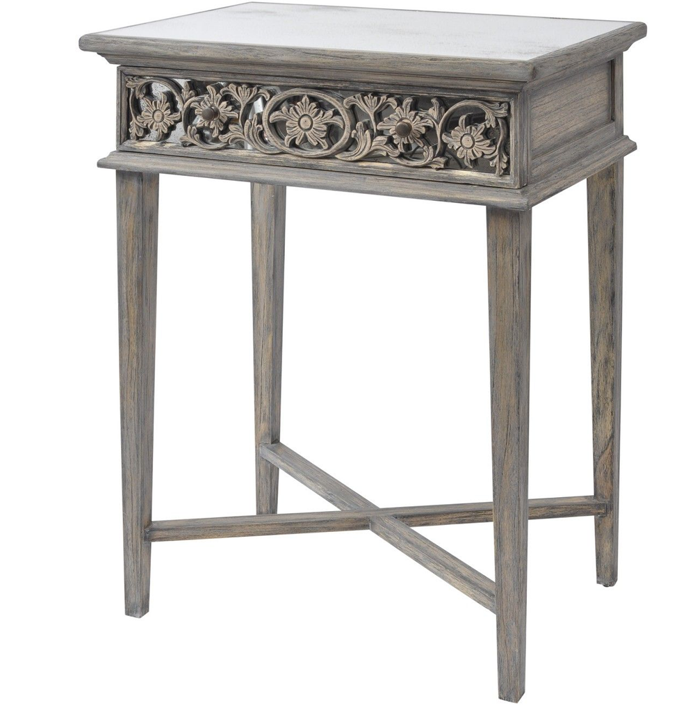 Contemporary Hall Table dorset contemporary console/ hall table | french antiqued hall table