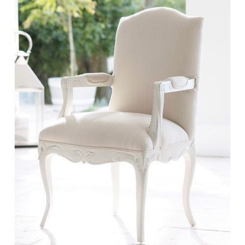 Louis French Upholstered Carver French Dining Room