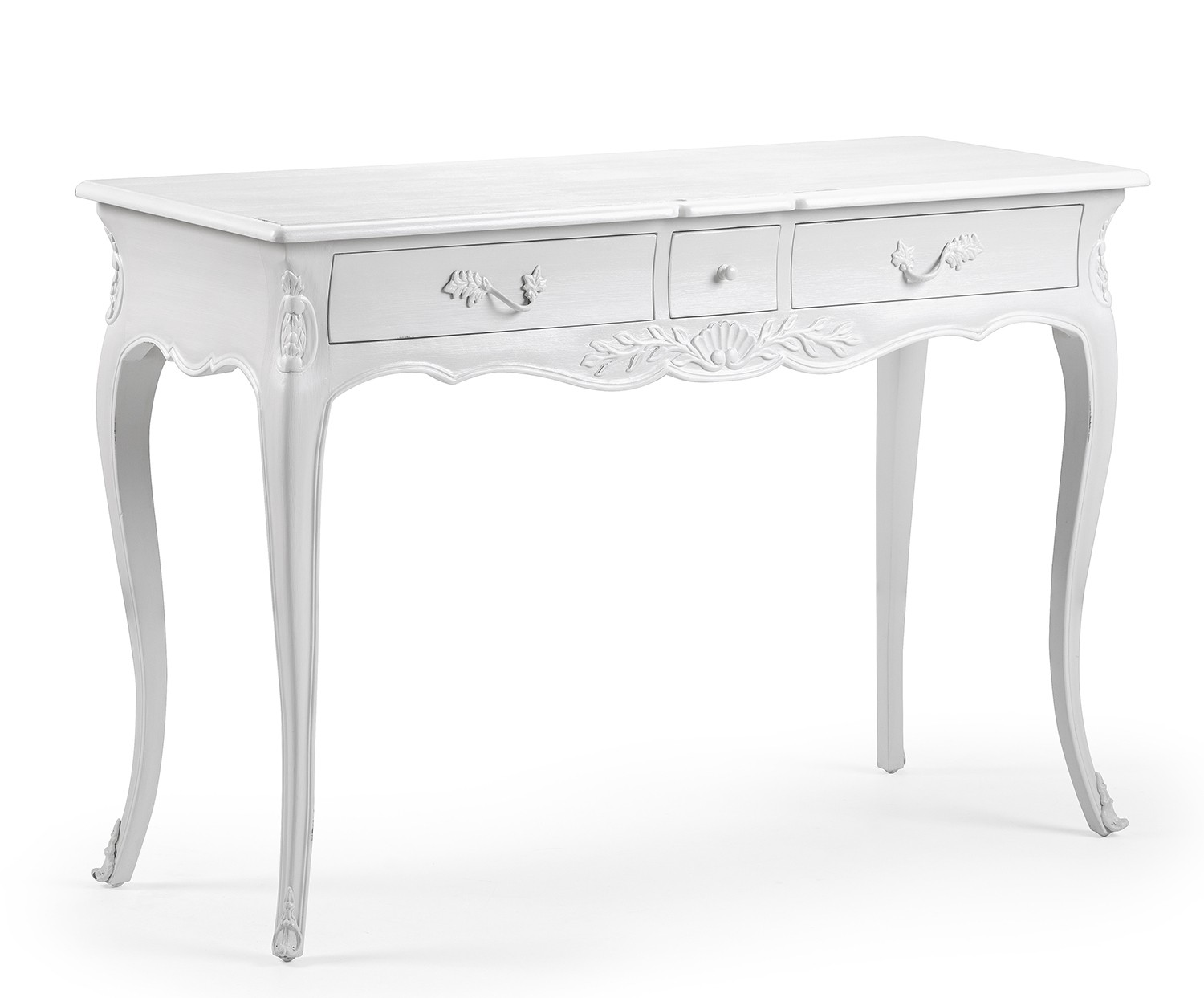 Picture of: Louis French Console Hall Table French Carved Console Table White Painted French Hall Table With 2 Drawers