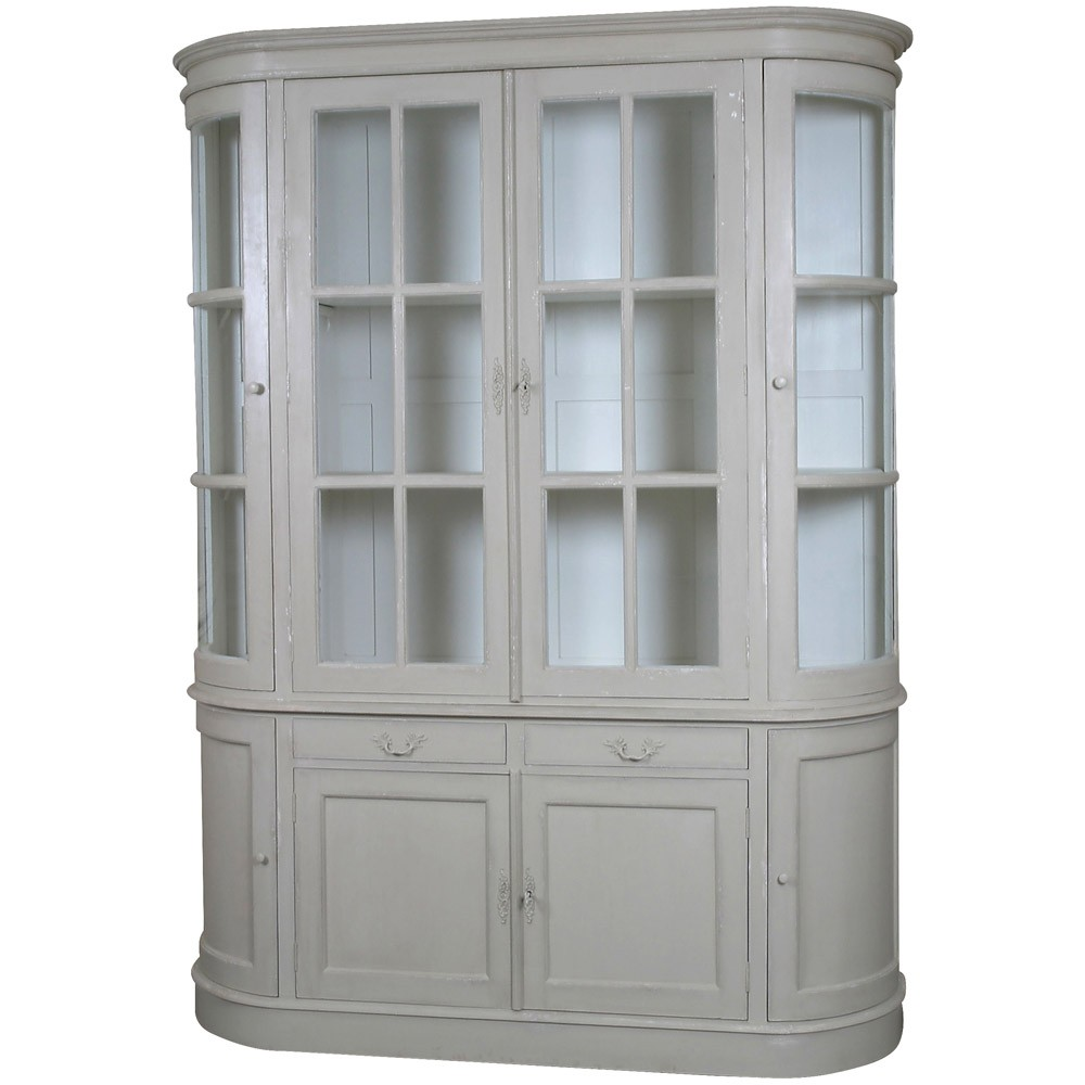 Louis French Style Large Showcase | French Style Furniture | Hand Painted French  Display Cabinets
