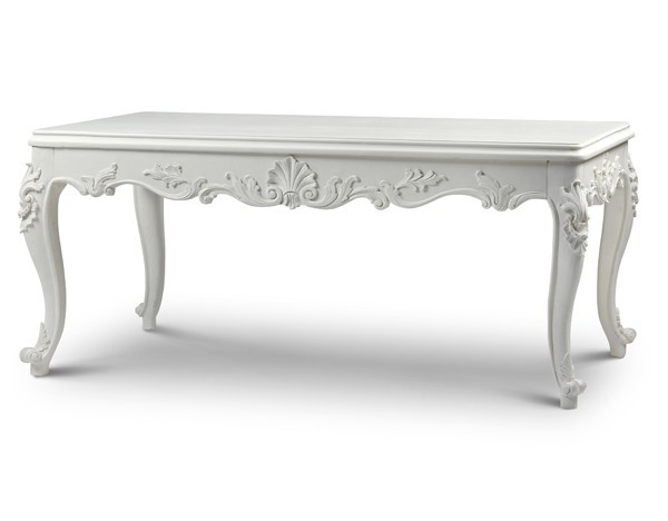 French Contemporary Shabby Chic Dining Tables Crown French
